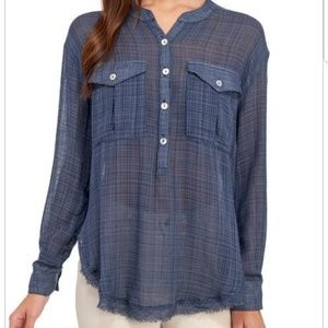 Free People Popover Shirt